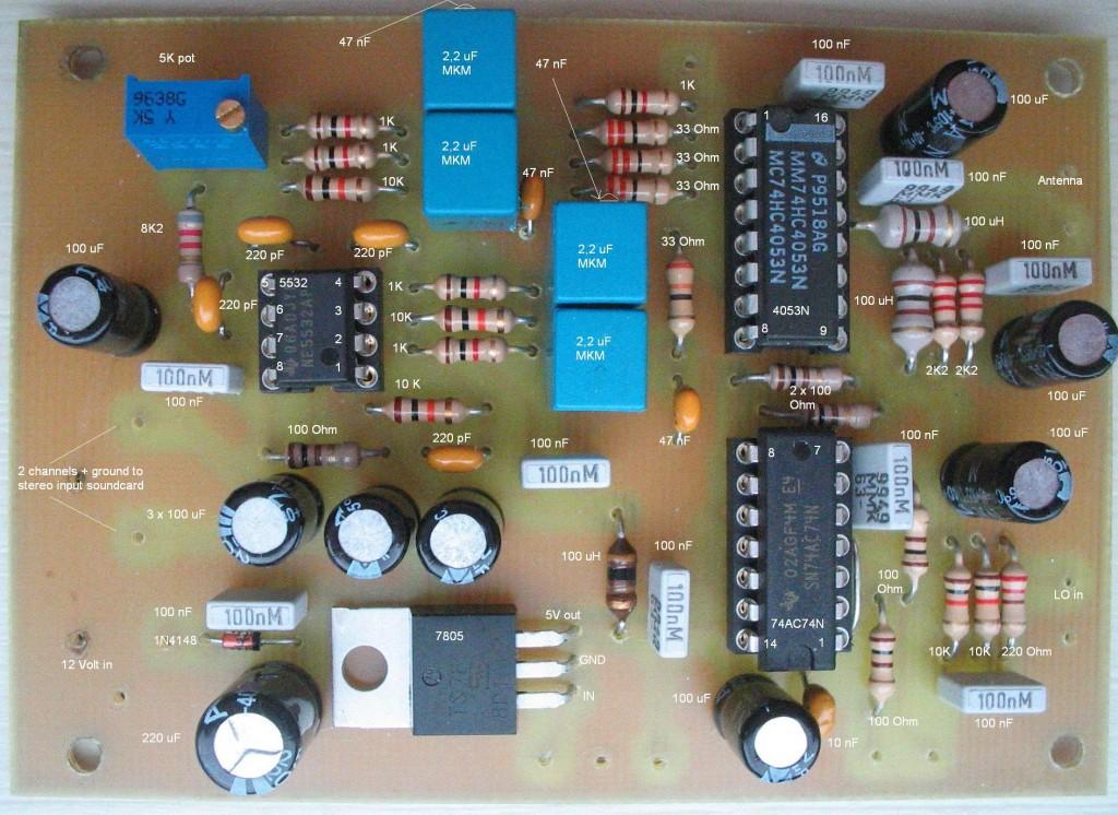 dr2b met onderdelen erop