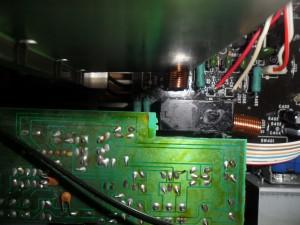 stukje tape op relais denon pma720